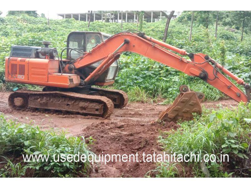 Tata Hitachi EX 110