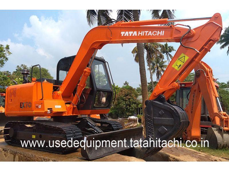 Tata Hitachi EX 70